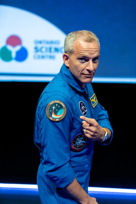 The Ontario Science Centre marks astronaut David Saint-Jacques' first mission with launch party on December 3. (CNW Group/Ontario Science Centre)