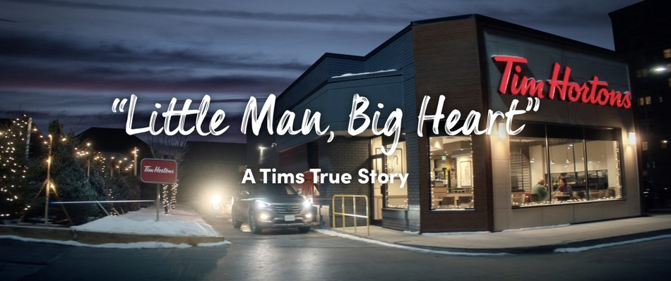Tim Hortons   Tims True Story: Little Man with a Big Heart (CNW Group/Tim Hortons)