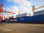 A first in the industry, 130 LNG tank containers are shipped to northern China