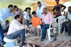 Veer Agrawal raises Rs.14 lacs to fund artificial limb fitment for about 300 amputees at the Jaipur Foot Camp (PRNewsfoto/Seth Bhagwandas J Agrawal Charit)