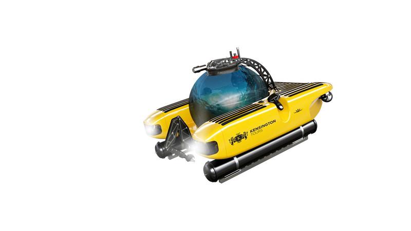 Kensington Tours branded submersible (CNW Group/Kensington Tours)