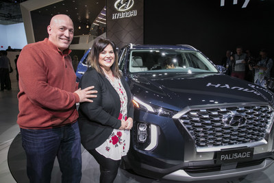 Hyundai Introduces the Beauchene Family to Their Next Vehicle, the 2020 Hyundai Palisade SUV
