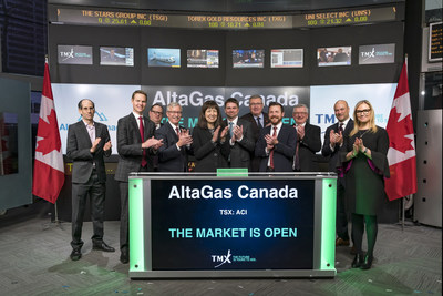 AltaGas Canada Inc. Opens the Market (CNW Group/TMX Group Limited)
