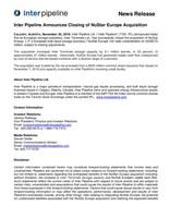 IPL NuStar Closing (CNW Group/Inter Pipeline Ltd.)