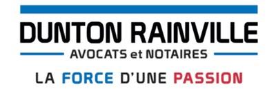 Logo : Dunton Rainville (Groupe CNW/Dunton Rainville S.E.N.C.R.L.)
