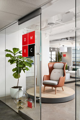 The DWRC Dallas showroom features exclusive products designed for Design Within Reach and brands including Anglepoise, Casala, Case, Fritz Hansen, Loll Designs, Softline, STUA and Stellar Works.