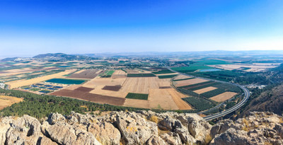 Jezreel Valley In Israel