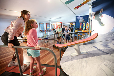 Australian Paralympian Snowboarder Joany Badenhorst joins the first group of children in Canberra to experience MathsAlive!, Raytheon's interactive maths and science exhibition. This one-of-a-kind experience is open to the public from 1 December 2018.