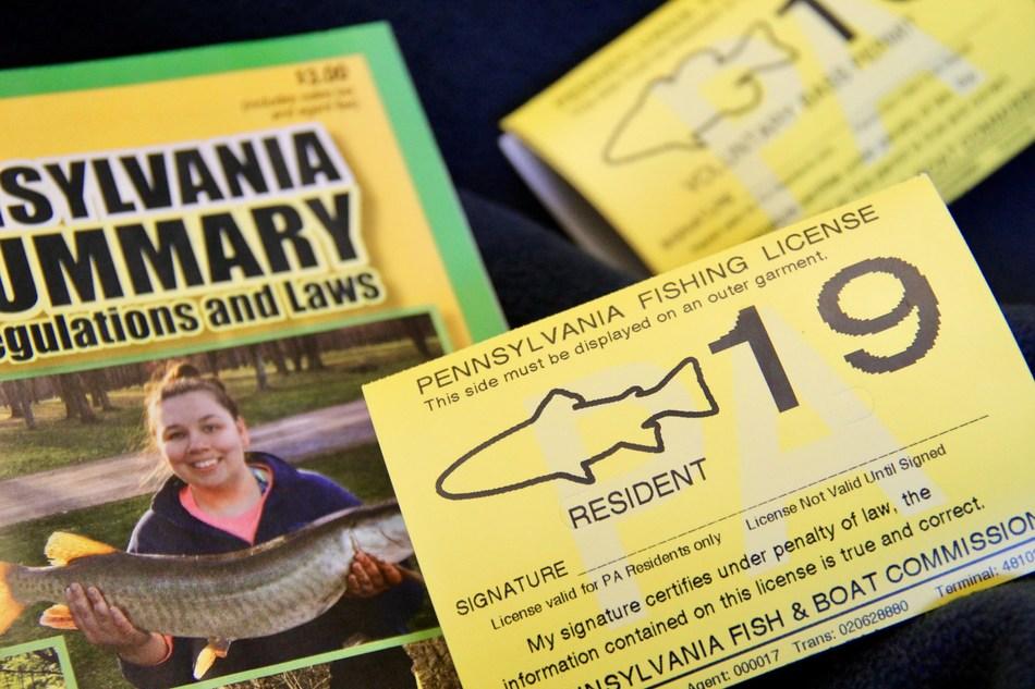 2019 Pennsylvania Fishing License