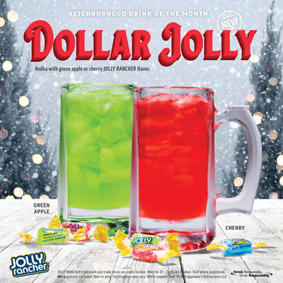 Deck the Halls with Boughs of Holly, Applebee's® Announces December DOLLAR JOLLY!
