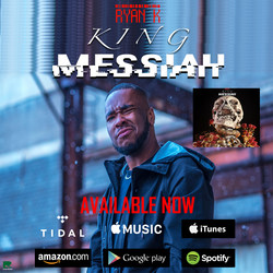 """King Messiah"" - Official Cover Art"