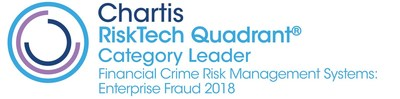FICO is a Category Leader for Enterprise Fraud Solutions in the Chartis RiskTech Quadrant.