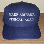 Make America Ethical Again Caps Available