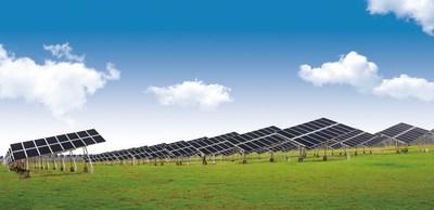 Projeto de fotovoltaicos da LONGi Solar (PRNewsfoto/LONGi Solar)
