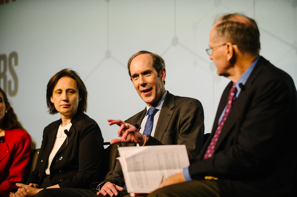 Brian Druker, MD, director of OHSU Knight Cancer Institute, and a co-lead investigator for LLS's Beat AML Master Clinical Trial at LLS Roundtable – Innovation in Research: Blood Cancers and Beyond.