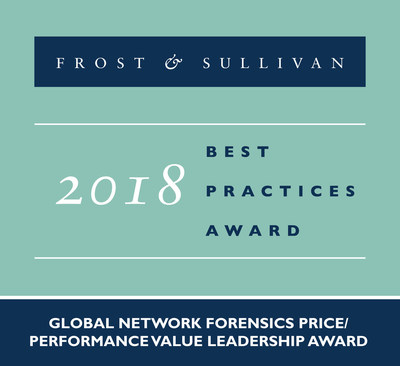 2018 Global Network Forensics Price/Performance Value Leadership Award