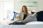 Stay By Stacy Garcia for QVC: Double Banded Hotel Comforter Set, Bubble Shag Pillows, Signature Puffy Knit Link Blanket