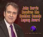John Harris Receives Cashbox Legacy Award (CNW Group/Harris Institute)