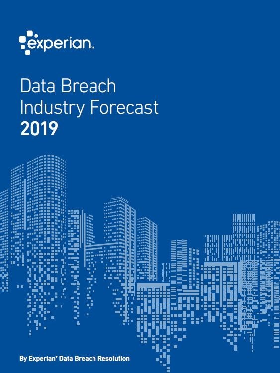 Experian releases sixth annual Data Breach Industry Forecast, which includes its top five data breach predictions for 2019. Download the report at http://bit.ly/IndustryForecast.