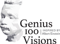 Le logo 100 Visions de Génie (Groupe CNW/Association des amis canadiens de l'Université hébraïque de Jérusalem)
