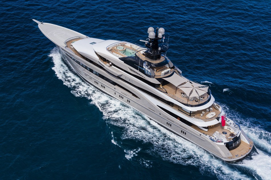 Four Seasons Pop Down Miami will take place aboard KISMET, a custom designed 95 metre (312 foot) superyacht.