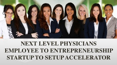 The Employee to Entrepreneurship Start to Setup Accelerator is Dr. Clairborne's flagship program helping physicians go from idea inception to manifestation and full business launch.