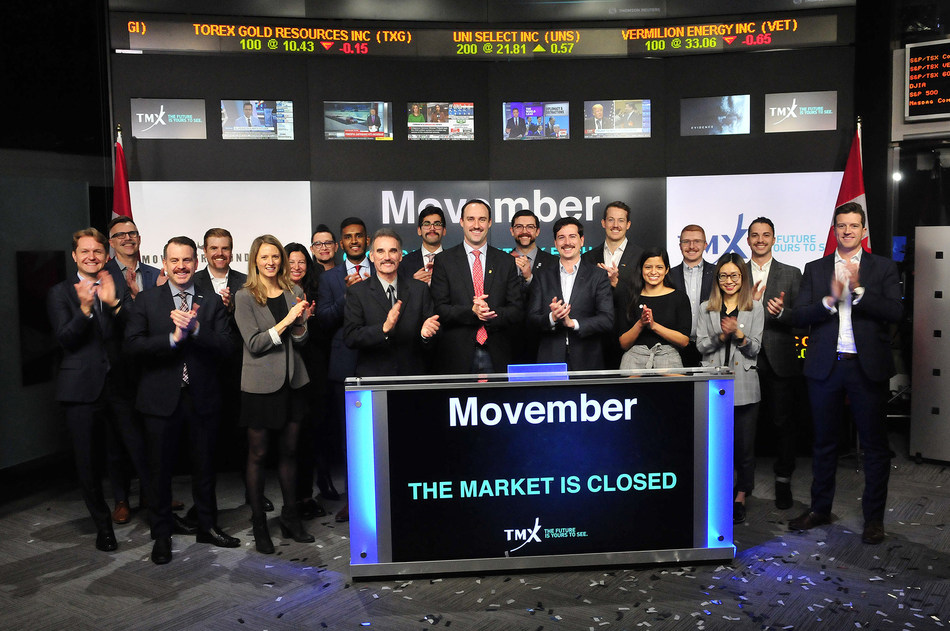 Movember Closes the Market (CNW Group/TMX Group Limited)