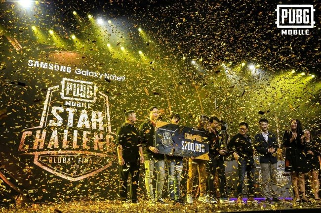 RRQ Athena Are Champions of The PUBG MOBILE Star Challenge 2018