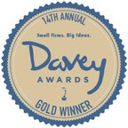 Davey Awards Gold Winner Badge