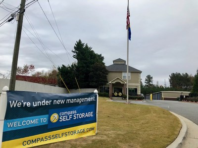Compass Self Storage Acquires Self Storage Center in Acworth, GA. This newest storage center marks the 85th Compass Self Storage location.