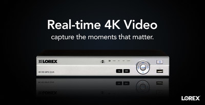 Lorex 4K Security DVR MPX (CNW Group/LOREX Technology Inc.)