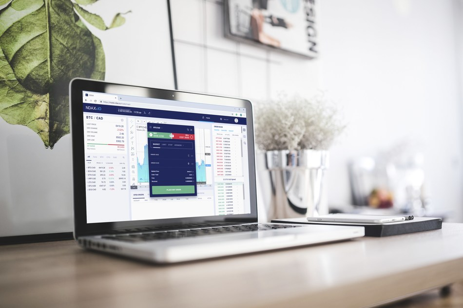 NDAX's new trading platform offers a feature-rich web experience that fits the trading needs of any investor level. (CNW Group/National Digital Asset Exchange Inc.)