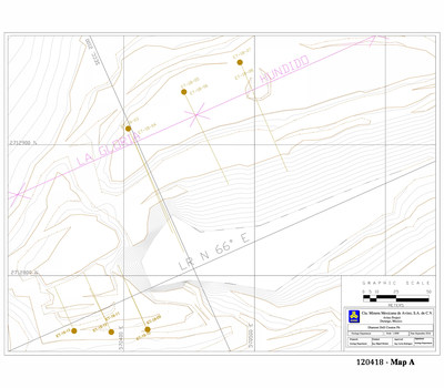 ASM Press Release 120418 Map A (CNW Group/Avino Silver & Gold Mines Ltd.)