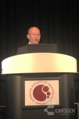 Prof. Songfu Jiang Presented at ASH2018