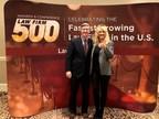 David Hall with legal legend Erin Brockovich