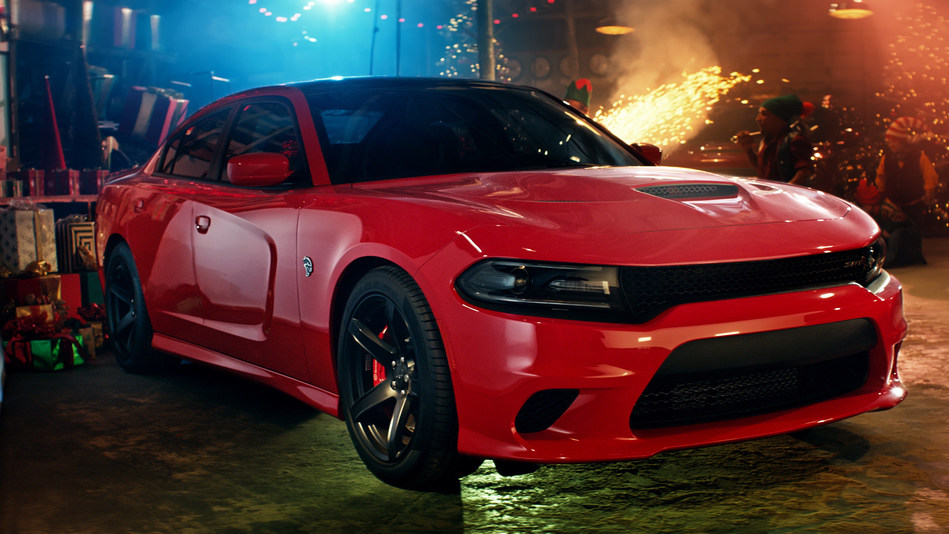 "Dodge launches social series ""Jolly Fast Man"" to rebuild Santa's sleigh"