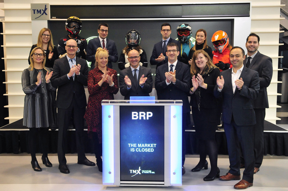 BRP Inc. Closes the Market (CNW Group/TMX Group Limited)