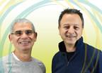 Stephen Hart, directeur de l'exploitation (à gauche), prend sa retraite après 43 ans chez Rideau et passe le relais à Patrick Elalouf (à droite). (Groupe CNW/Rideau Solutions de reconnaissance)