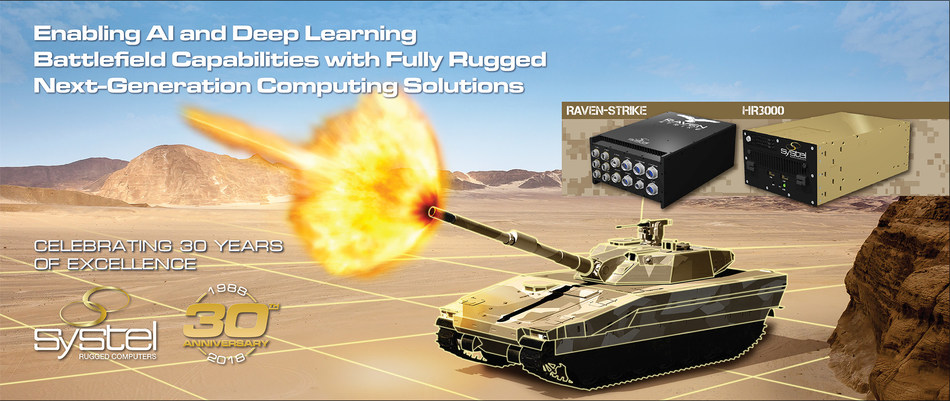 Systel's Rugged Mission Computers Enable AI and Deep Learning Capabilities for Mission Success