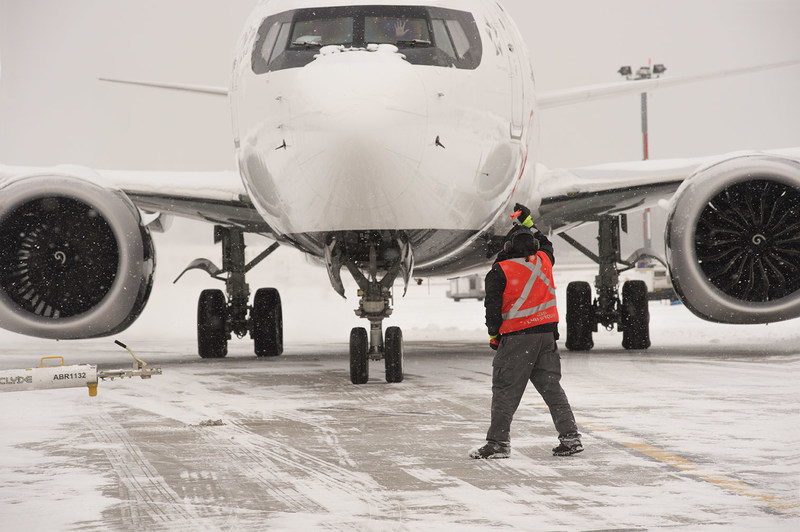 Air Canada winter opearations (CNW Group/Air Canada)