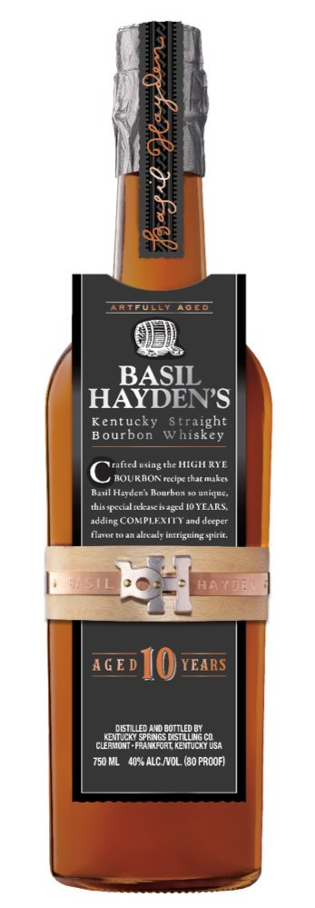 Basil Hayden's® Introduces a 10-Year-Old Bourbon Just in Time for Holiday Gift-Giving