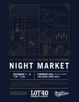 Lot No. 40 Rye Whisky Presents The New Old Fashioned Night Market (CNW Group/Corby Spirit and Wine Communications)