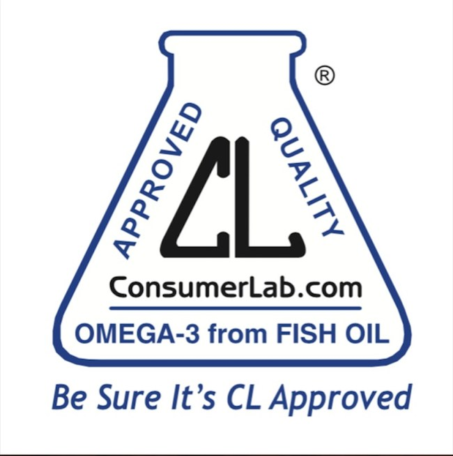 ConsumerLab.com omega-3 Seal of Approval