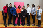 Marriott Associates and the pilot program graduates celebrate at Marriott Toronto Eaton Centre Hotel (CNW Group/Marriott Hotels & Resorts Canada)