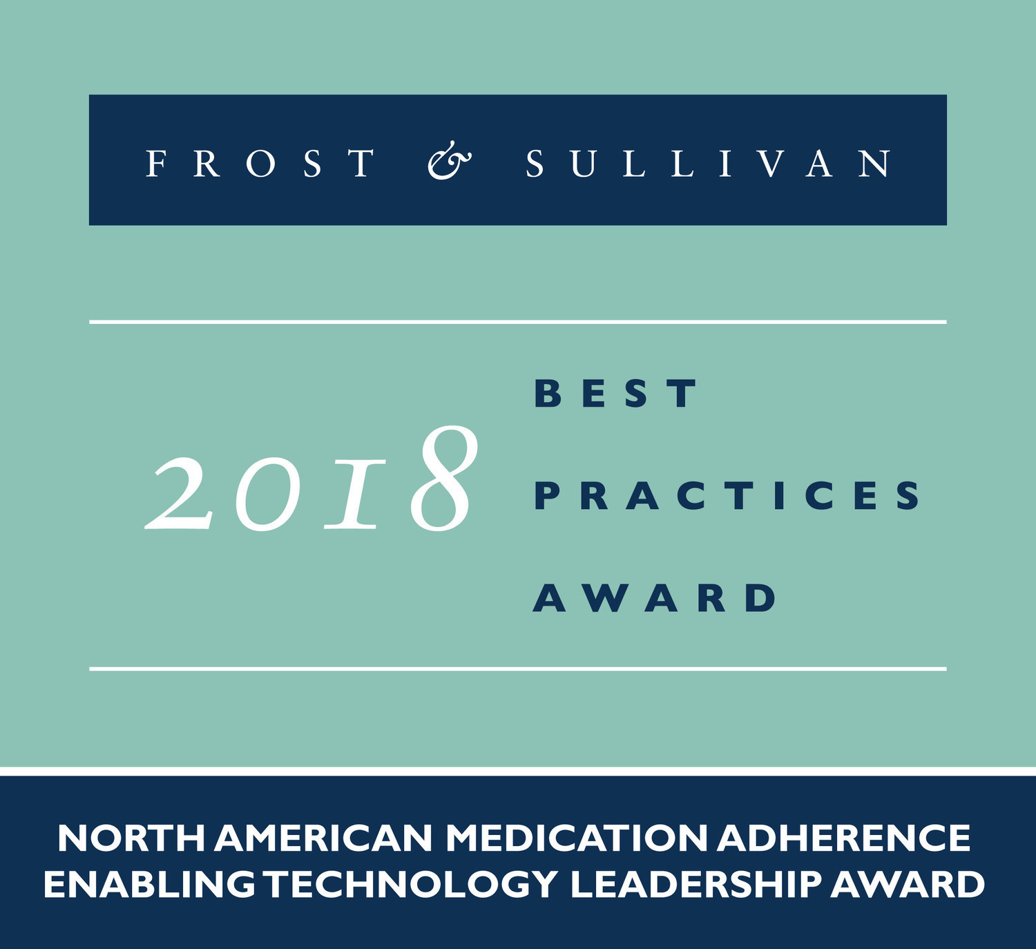 2018 North American Medication Adherence Enabling Technology Leadership Award