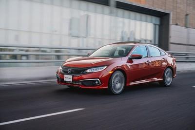 Honda Civic 2019 se presenta en México en versiones Sedán y Coupé