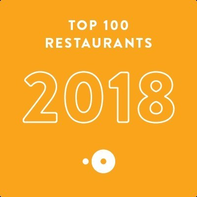 OpenTable's Top 100 Restaurants 2018