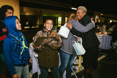 Belk surprised more than 200 Laurinburg, N.C. residents affected by Hurricane Florence with a holiday party and gifts totaling $50,000 on Tuesday, December 4.