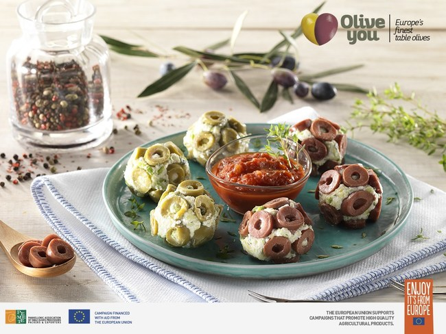 HEALTHY OLIVE APPETIZER RECIPE