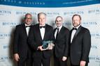 2018 North American Contact Center Software Enabling Technology Leadership Award (PRNewsfoto/Frost & Sullivan)